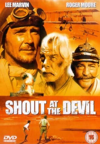 SHOUT AT THE DEVIL Lee Marvin /'76 German 1-sh R Moore