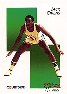 Jack Givens Basketball Card (Kentucky) 1992 Courtside #12