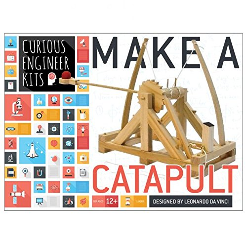 Copernicus Toys Wooden Leonardo Da Vinci Make A Catapult Kit