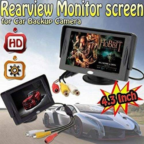 4.3 Inch Color LCD TFT Rearview Monitor screen for Car Backu