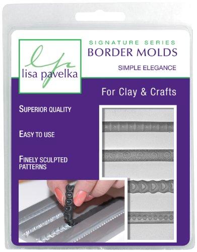 Lisa Pavelka 327015 Border Mold Simple Elegance