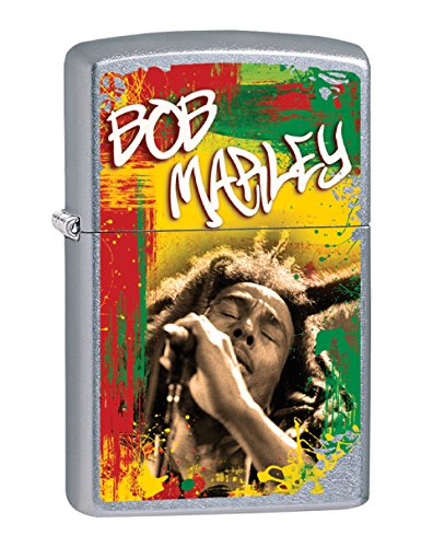 Zippo Personalized Message Engraved on Backside Bob Marley Windproof Zippo Lighter