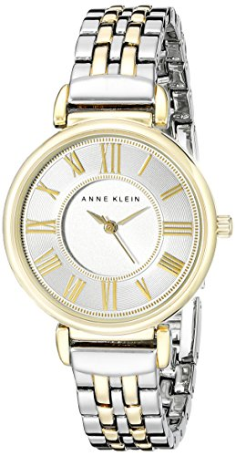 Anne Klein Women's AK/2159SVTT Two-Tone Bracelet (Anne Klein Metal)