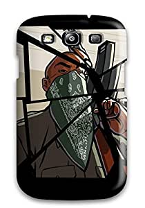 Hot PXyXqBR1566SAmIg Case Cover Protector For Galaxy S3- Grand Theft Auto