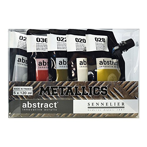 sennelier acrylic paint sets - 3