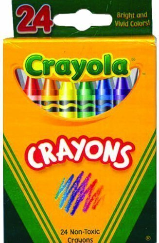 Crayola Crayons 24 Count Boxed - Case of 48 Packs