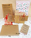 SANTAS CHRISTMAS EVE BOX,SANTA'S MAGIC KEY,MAGIC REINDEER FOOD,LETTER TO SANTA, ALSO LETTER FROM SANTA AND CHRISTMAS I SPY SHEET