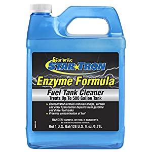 Star Tron Gas Tank & Fuel System Cleaner - Remove Sludge & Deposits From Gasoline & Diesel Fuel Tanks + Clean Injectors & Fuel Lines