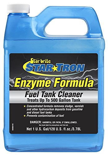Star Tron Gas Tank & Fuel System Cleaner - Remove Sludge & Deposits from Gasoline & Diesel Fuel Tanks + Clean Injectors & Fuel Lines (Best Way To Remove Rust From Gas Tank)