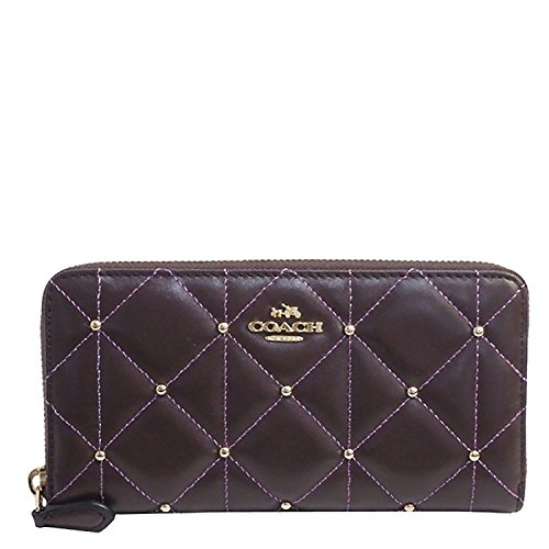 Coach Quilted Leather Accordian Zip Wallet - #F15763