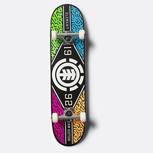 Twig Deck (Element River Camo 7.5 Twig Skateboard Complete Inch Complete Skateboard Multi Colored 7.5)