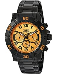 Invicta Mens 19705SYB Specialty Analog Display Japanese Quartz Black Watch