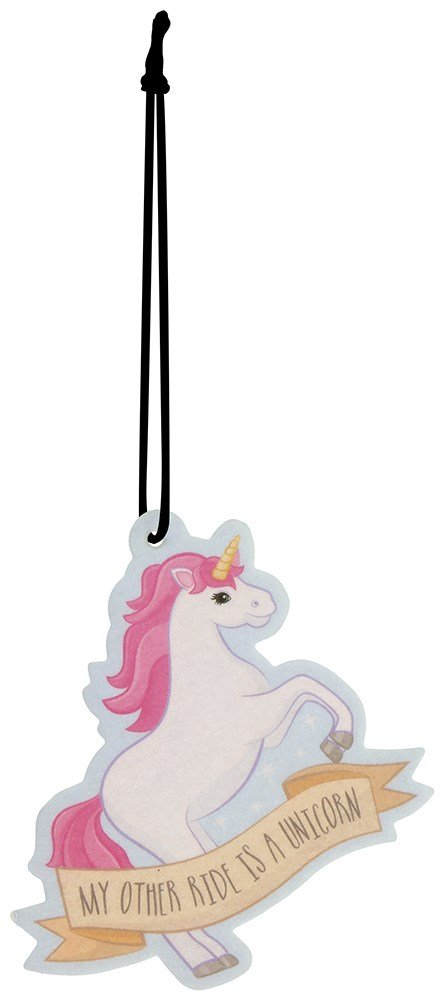 Fun Air Freshener - Fairy Cake Fragranced Unicorn by Puckador Puckator AIRF31