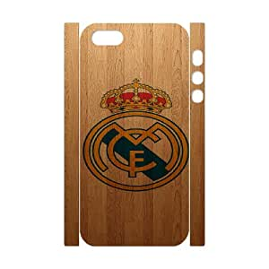 iphone 5 5S 3D Phone Case Real Madrid Club de F¨²tbol FC Logo Case Cover TP7P553676