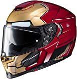 HJC Unisex-Adult Full-face-Helmet-Style RPHA 70 ST Iron Man (MC-1, Medium)
