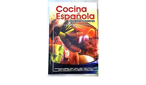 Cocina casera : salsas, entrantes y entremeses, ensaladas, huevos, arroces: 9788482594262: Amazon.com: Books
