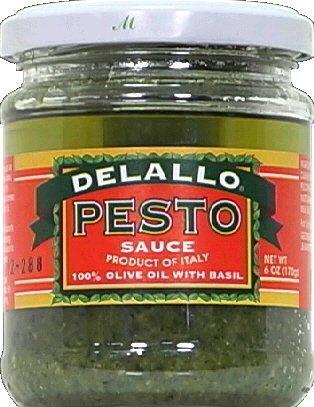 DeLallo Pesto Sauce in Olive Oil 6.5 OZ(Pack of 1)
