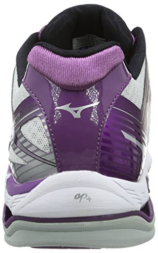 Wave W Silber Womens Weiß Volleyball Lila Shoes Lightning Weiß Mizuno gqwECg