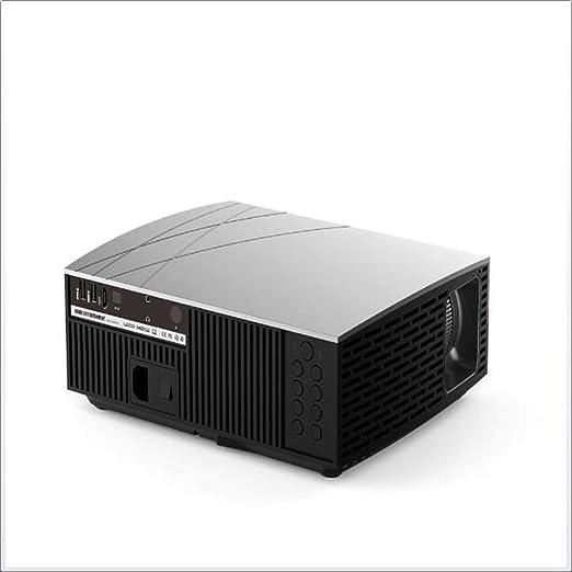 Proyector 3800 lúmenes Sonido estéreo Calidad HD 1080P Teatro Cine ...
