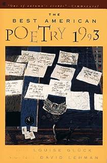 The best american poetry 2001 robert hass david lehman the best american poetry 1993 fandeluxe Ebook collections