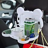 VelKro Multi Functional Travel Cartoon Shaped Auto Car Back Seat Tray Table Drinks Food Holder