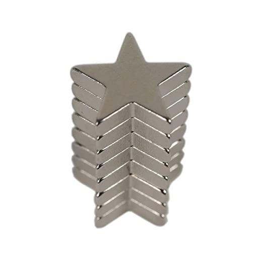 60 opinioni per HAB & GUT (MC000-S) 8 magneti ultrà potenti STELLA al neodimio, 15 x 3 mm, Forza