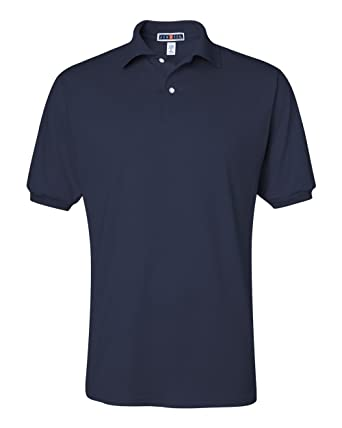 d367962b4e2 Jerzees 50 50 Men s 5.6 oz. Jersey Polo with SpotShield at Amazon ...
