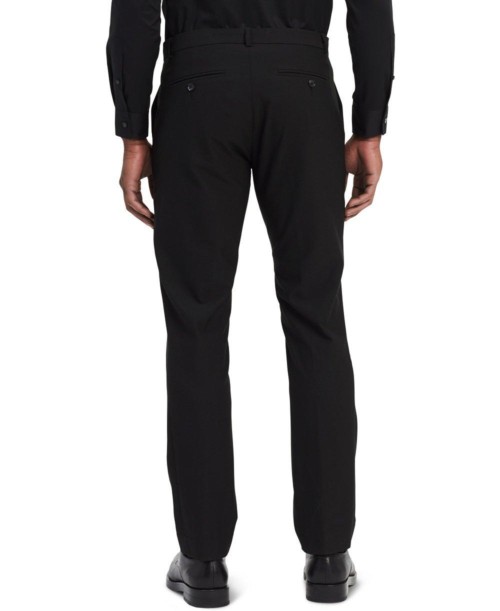 Calvin Klein Men's Infinite End Bi-Stretch Pants, Black, 38W 34L by Calvin Klein Jeans (Image #2)