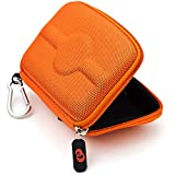 Orange Nylon VG GPS Carrying Case (Size 4.3) for TomTom XL 340TM 1EM005220 4.3-Inch Widescreen Portable GPS Navigator + SumacLife Wisdom Courage Wristband
