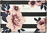 Kate Spade New York Women's Hyde Lane Rose Stripe Card Holder Floral Multi One Size
