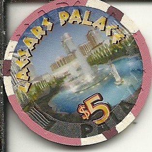 $5 caesars palace 40th anniversary casino chip las vegas - Palace Chip Caesars