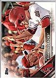 2016 Topps Baseball Series 2 #568 Arizona Diamondbacks Diamondbacks