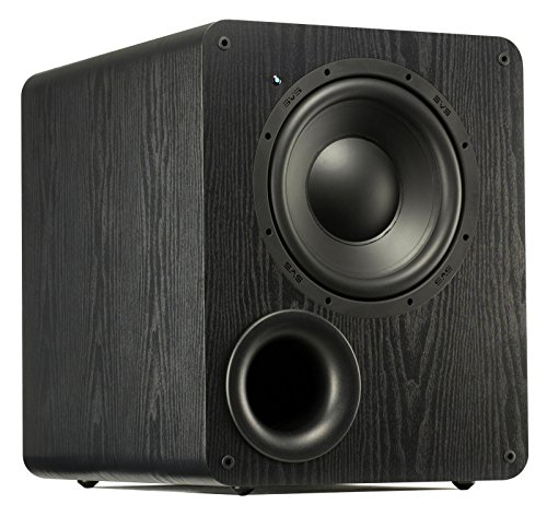 SVS PB-1000 Subwoofer (Black Ash) - 10-inch Driver, 300-Watts RMS, Ported Cabinet ()