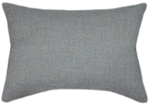 Cheap  TPO Design, Sunbrella Cast Slate Indoor/Outdoor Patio Pillow 12x18 (Rectangle)