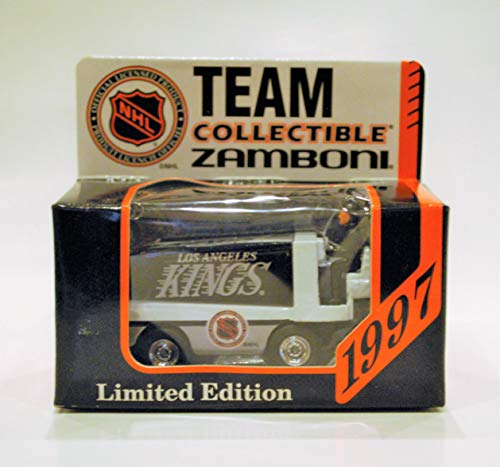 1997 NHL Team Collectible 1:50 Scale Diecast Collectors Zamboni - LOS ANGELES KINGS (Nhl Diecast Collectibles)