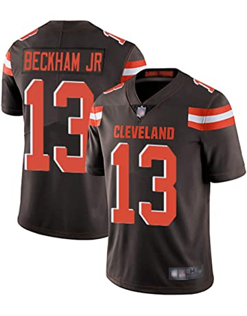 4e497aa10b7 Mitchell & Ness Cleveland Browns #13 Men's Odell Beckham Jr. Limited Home  Stitch Jersey