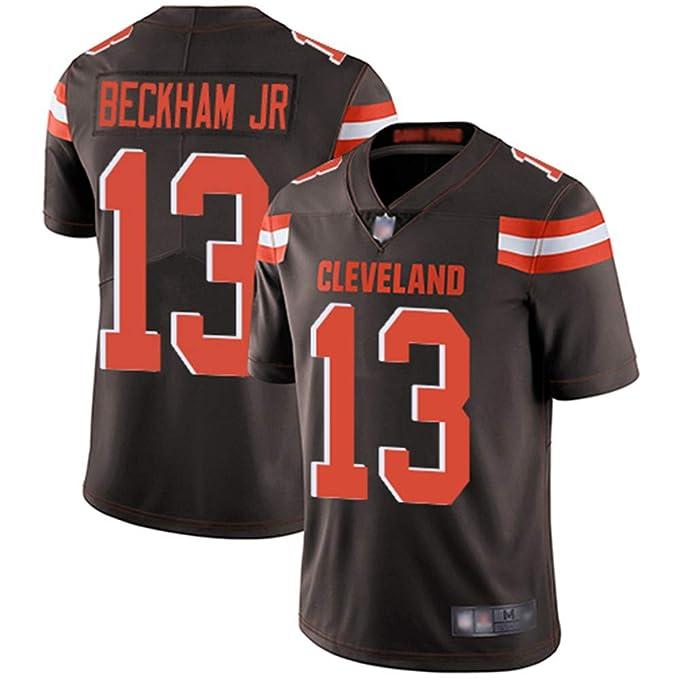 online retailer b6c5a 9fd18 Mitchell & Ness Cleveland Browns #13 Men's Odell Beckham Jr. Limited Home  Stitch Jersey