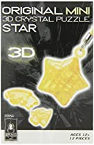 BePuzzled Mini 3D Crystal Puzzle - Star