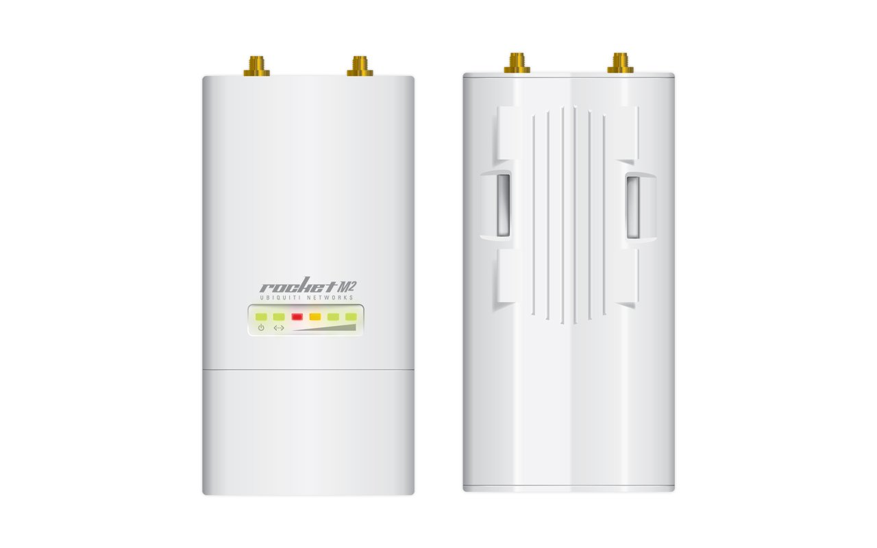 Ubiquiti ROCKETM2 2.4GHz Hi Power 2x2 MIMO AirMax TDMA BaseStation by Ubiquiti