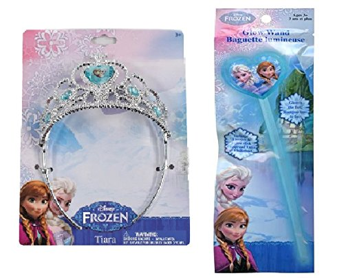 Disney Frozen Tiara & Glow Wand - Disney Frozen Glow Tiara