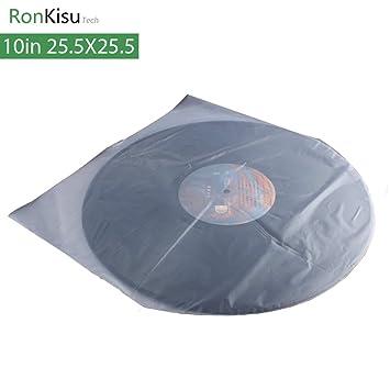 10 Inch LP protección almacenamiento bolsa interior para ...