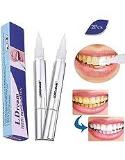 Zahnaufhellung Stift,Zahnaufhellung Gel,Teeth Whitening Pen,Weiße Zähne Weisser Machen Zahnaufheller Zahn Effektiv 2 Pcs