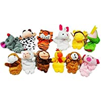 landsell 12 PC Animal Finger Puppets