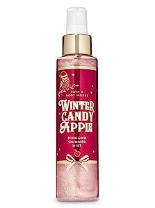 Bath and Body Works Diamond Shimmer Mist - 4.9 fl oz Full Size - Winter Candy Apple