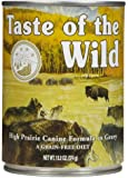 Taste of the Wild High Prairie Canine - Roasted Bison & Venison Formula - 12 x 13.2 oz
