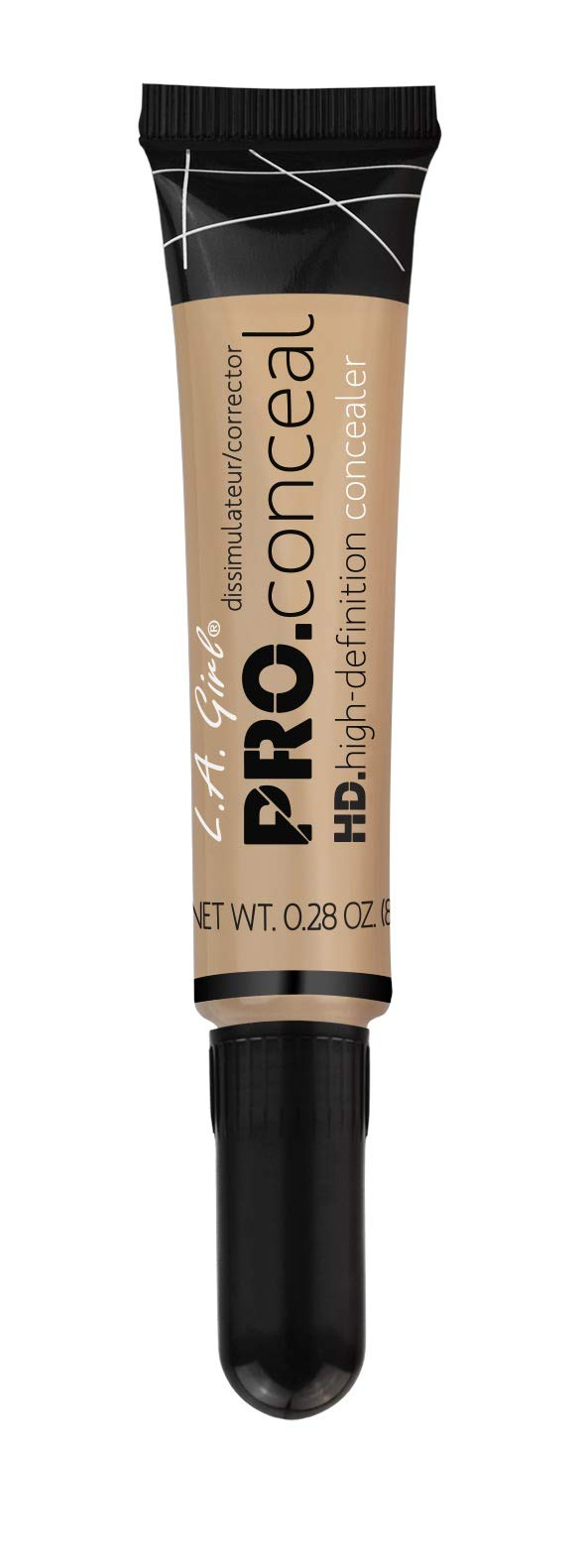 L.A. Girl Cosmetics Pro Conceal HD Concealer, Natural 8 g