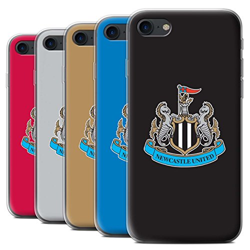 Offiziell Newcastle United FC Hülle / Gel TPU Case für Apple iPhone 7 / Pack 12pcs Muster / NUFC Fußball Crest Kollektion
