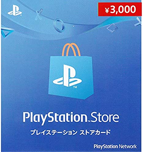 PlayStation Network Card / Ticket (3000 YEN / for Japanese network ...