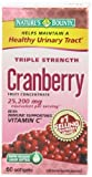 Nature's Bounty Triple Strength Cranberry with Vitamin C, 25,200 mg, 60 Softgels (Pack of 4) by Nature's Bounty