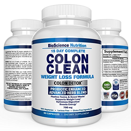 Colon Cleanse Super Detox Probiotic product image